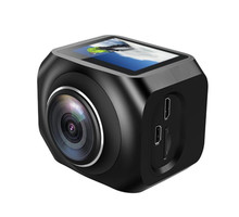 2017 Hot Selling WIFI Sport Action Camera 360 Degrees VR 4K Mini Camera with Remote Control