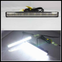 Universal White Super Bright 8 SMD 5050 LED Daytime Running Light 6000K Car LED Daytime Driving Fog DRL Lamps