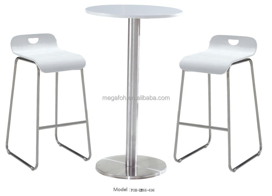 Club and Bar Room Bar Stool Chair and Table Bar furniture (FOH-XM66-696)