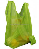 2014 Hot New Design Nylon Tote Bag with Integrated Pouch
