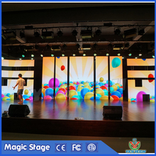 fixed/hanging/dislocation easy rental indoor led screen installation