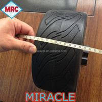China High Quality 4inch electric buggy wheels 10x22cm