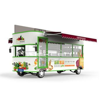 JEKEEN high quality electric food truck of fruit and vegetable truck-42