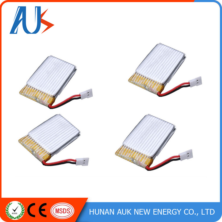High discharge rate 400mah lithium li-polymer 702035 3.7v rc helicopter battery