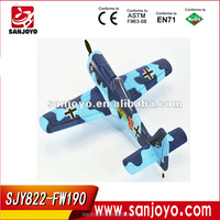 EPO foam 2.4G 4 Channel radio FW-190 rc plane