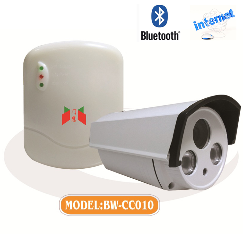 AC remote motor control box with waterproof IP camera