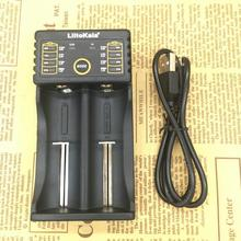 Liitokala Lii-202 18650 charger 1.2V 3.7V 3.2V 3.85V AA AAA 26650 10440 14500 16340 25500 NiMH lithium battery smart charger