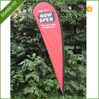 3M outdoor flying, feather banner, beach flag stand for Sport Events, Promotion and Exhibition Display