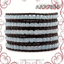 Classical fast pitch bracelet glass roses wholesale products