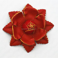 2016 Newest China Leather Flower For