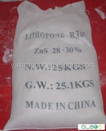 China hot sales Lithopone Powder Lithopone ZnS 30%