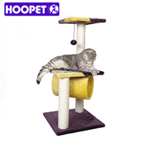 Pet products supplies luxury indoor cat trees fashion design cat scratching post