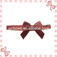 Satin Ribbon with Pre-tied Bow for Packaging