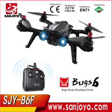 Racing drone MJX B6F Bugs racing drone 5.8G camera Brushless motor with long flying time Racing drone SJY-B6F
