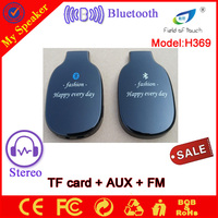 2014 new products wireless bluetooth headset with fm radio