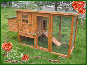factory price wooden hen house with running coop for hot sale