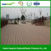 WPC Board Anti-UV Sanding Exterior Wood Plastic Composite Floorings Outdoor WPC Decking