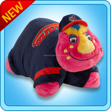 Cleveland Indians American Football, Baseball, Basketball, Ice Hockey Team Plush Animal Mascot Pillow Toys, PET SIDEKICK