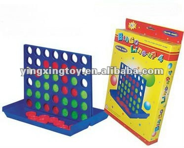 plastic intellective bingo chess toy play set