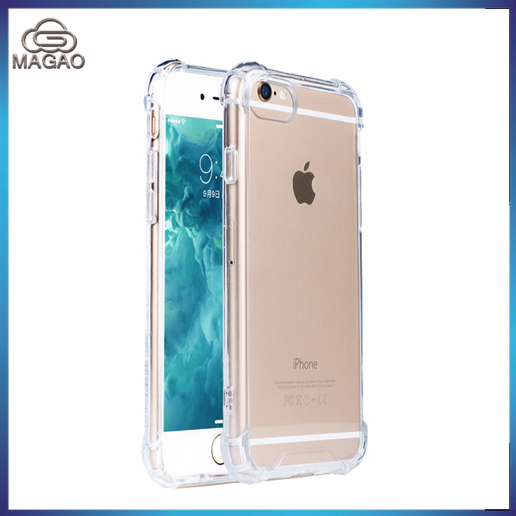 Cover 0.3mm Ultrathin Transparent Soft TPU Protective Phone Case for iPhone 6 6S Plus Shocproof Shell