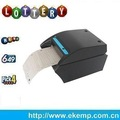 Handheld bluetooth mobile thermal printer for lottery management