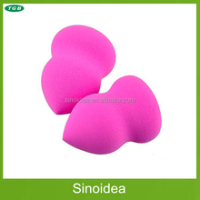 Pink Makeup Sponge Powder Puff Flawless Smooth Beauty (Calabash Gourd Shape)