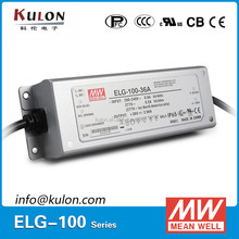 Meanwell ELG-100-36 IP67 / IP65 Suitable for LED street lighting and outdoor LED lighting, output 100W 2.66A 36V led driver
