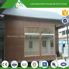 Mobile multifunction kiosk prefabricated a frame homes/police station
