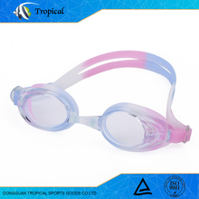 Cheap wholesale high quality transparent swimming goggles