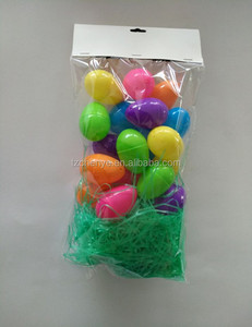 best sale High quality egg + Yarn surprise new invention plastic easter egg