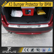 Stainless Steel X3 Rear Bumper Guard for BMW X3 2013