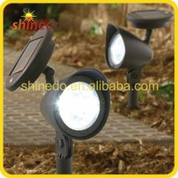 3 Pcs LED Solar Garden Lawn Spot Light low voltage