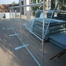 Flat base safety barrier fence crowd control barrier with cheap prices