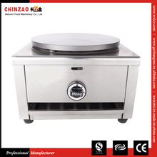 China Kitchen Equipment Countertop LPG Gas Crepe Maker Single Head 40CM Cooking Plate