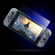0.33mm 2.5D flat tempered glass for Nintendo Switch