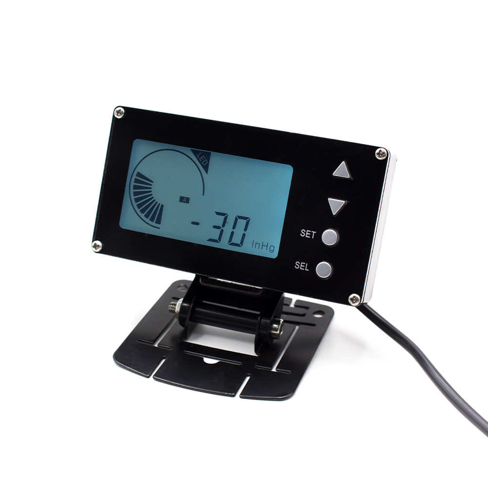 Cnspeed 12V Racing Car Digital EVC LCD Display Electronic <strong>Valve</strong> Boost Controller Solenoid <strong>Valve</strong> Auto Gauge