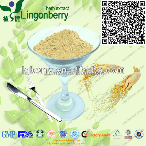 Low Pesticide Residue Panax Ginseng Root Extract ginsenoside