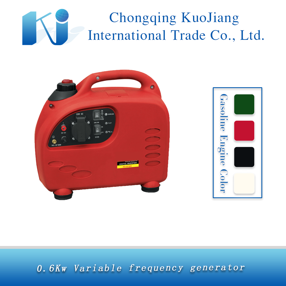 1hp SF600 recoil start portable power gasoline inverter generators