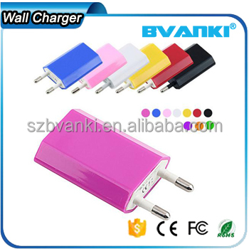 New premium factory price charger 5V 1A usb charger for samsung usb charger galaxy S6 S7 wall usb adapter online shopping india