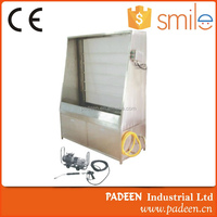 Manual screen washing developing screen washout booth machine