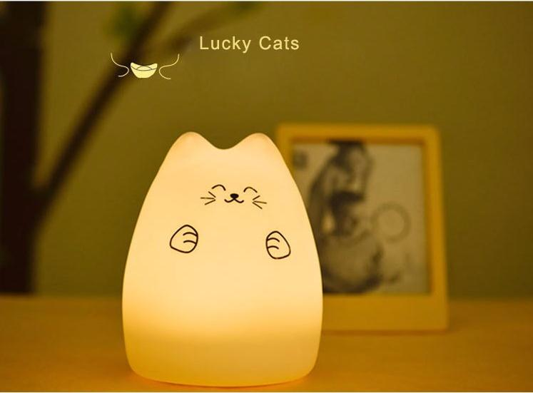 2017 Danycase Colorful Animal Silicone Light,Eco-Friendly Silicone Led Night Light