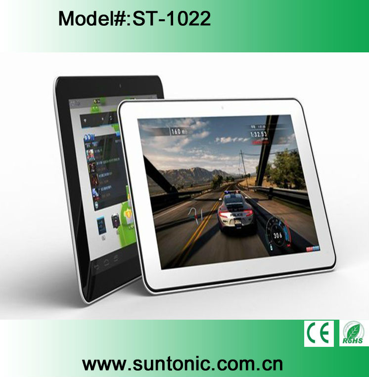 10.1 inches quad core tablet pc Google Android 4.1 OS 1280 x 800 2GB 16GB