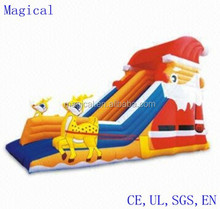 Newest Christmas Theme Inflatable Slide 8 x 5 x 5.9m