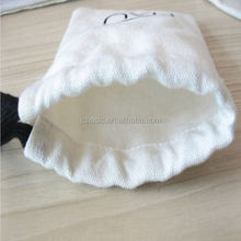 Drawstring Cotton Dust Bag Cover for women cluth bag