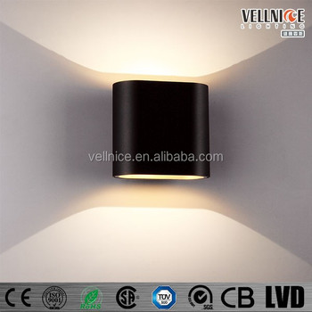 2*3W Indoor COB LED up and down Wall Light / LED Wall Lamp (W3A0074)