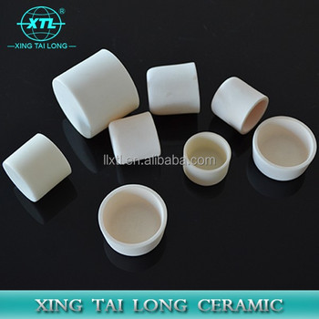99-99.7% High Alumina Boat Crucible For Industrial Applications And Furnace