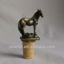 Pewter Horse Wine Stopper