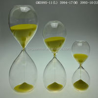 Wholesale hourglass sand timer for home decoration