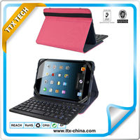 "universal bluetooth keyboard with leather case for 7"" tablet+ more tablets"