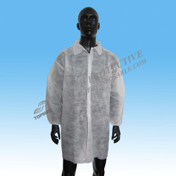 Best sale SBPP nonwoven lab coat